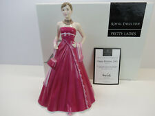 ROYAL DOULTON. PRETTY LADIES.HN 4722. HAPPY BIRTHDAY 2005 .  NEW IN BOX.