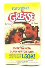 Grease Fotonovel 1978 Paperback 350 Color Pictures John Travolta Song Lyrics