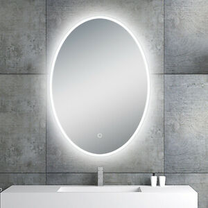 """LED Backlit Illuminated Mirror 20"""". Wall Mounted for Bathroom, Makeup."""