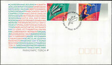 2000 AUSTRALIA Paralympic Torch  FDC