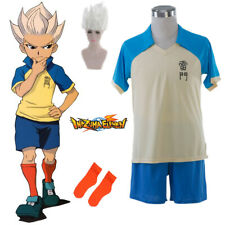 Anime Inazuma Eleven Shuya Goenji Cosplay Costume Summer Uniform Halloween Set