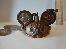 Disney Steampunk Mickey Mouse  Ear Hat Ornament LEATHER Limited Edition