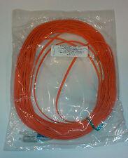 SC-LC Duplex Multimode Cable 62.5/125um Plenum 2 mm 20 Meters- new in bag