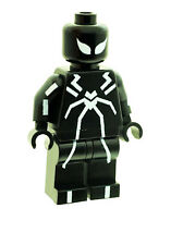 Custom Designed Minifigure Spider man (Stealth Suit White) Printed On LEGO Parts