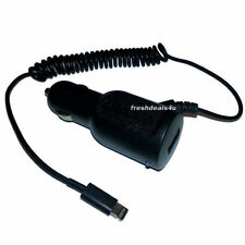 NEW BLACK IN CAR CHARGER FOR APPLE iPHONE 5 5S 5C 6 7 7 PLUS MOBILE PHONE