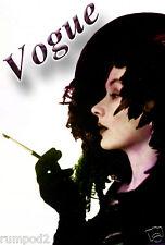 Vogue Art Poster/Print/Woman Smoking/Art Deco