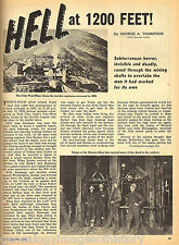 """DALY-WEST MINE, ONTARIO MINE """"HELL AT 1,200 FEET""""+INDEX"""