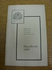 1967 Cricket: English Schools Association - Handbook. Thanks for taking the time
