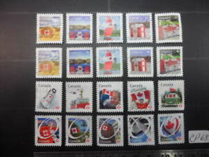Canada Flag Stamps Lot CP63