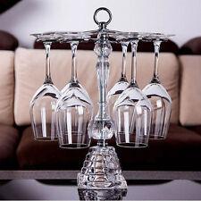 Wine Glass Crystal Rack Home Kitchen Dining Bar Tool Shelf Holder Hanger 195HC