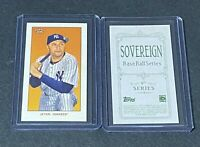 2020 Topps T206 Wave 5 Derek Jeter Sovereign Back Short Print NEW YORK YANKEES
