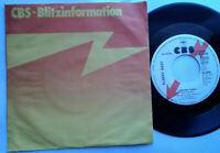 "Albert West / 9.999.999 Tears / Her Shadow And Mine 7"" Single Vinyl 1977 Promo !"