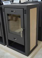 Wood Burnig Stove for Central Heating Fireplace Integral Boiler 9-12 kW DIN Plus