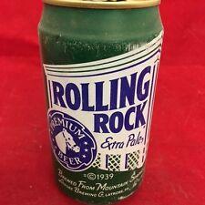 Rolling Rock Empty Beer Can, pop tab, 12 oz