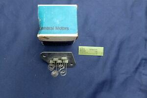 1966 Pontiac A/C blower motor resistor, NOS! 9784704 Bonneville, Catalina