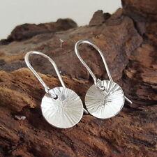 Silver Butterfly Drop/Dangle Fine Earrings