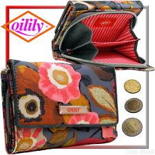 Oilily Damen-Geldbörse (light-rosa Metall-Zipper), Geldbeutel, Portemonnaie, Neu