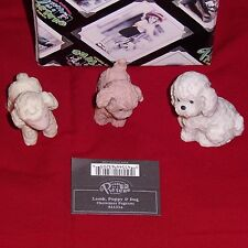 Kim Anderson Pretty As A Picture Christmas Pageant Figurine-Lamb, Puppy & Dog