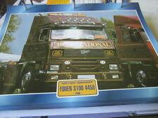 Super Trucks Frontlenker England Foden S106 4450, 1986