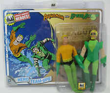 AQUAMAN & GREEN ARROW RETRO 8IN ACTION FIGURE - Figure Toy Co.