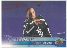 2016-17 Upper Deck UD Canvas #C76 Victor Hedman Tampa Bay Lightning