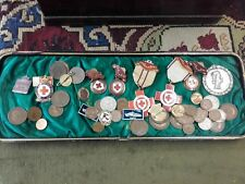 medals coins and badges job lot