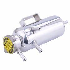 Aluminium 350ml Radiator Header Coolant Overflow Expansion Tank Polished