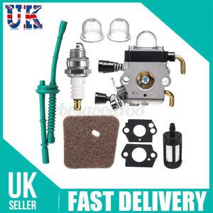 UK Carburetor Gasket Carb For STIHL FS38 FS45 FS46 FS55 KM55 FS85 Air Fuel Set