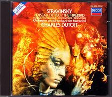 Charles DUTOIT: STRAVINSKY L'Oiseau de feu Scherzo fantastique Firebird DECCA CD