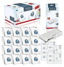 Miele Performance Pack 16 Type Gn AirClean 3D Efficiency Genuine Filter Bags New