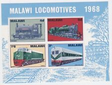 Malawi 1968 MINT sheet Locomotive trains Sc90a MS304 MNH