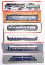 Rivarossi HO DC French CIWL ORIENT EXPRESS LOCOMOTIVE & PASSENGER COACH SET MIB!