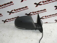 SKODA OCTAVIA MK2 2009-2013 WING/DOOR MIRROR ELECTRIC (DRIVER SIDE) IN BLACK