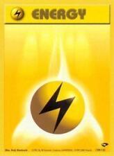 4x Lightning Energy - 130/132 - Common - Unlimited Edition Pokemon Near Mint Gym