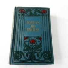 Poppies and Pansies by Emma Marshall - 1st Edition - Fair Condition Hardback