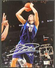 Dirk Nowitzki Dallas Mavericks Signed 8x10 Photo Autographed GA COA