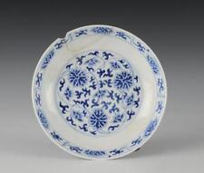 CHINESE BLUE & WHITE DISH, TONGZHI MARK & PERIOD Lot 634
