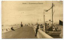 CPA - Carte Postale - Belgique - Ostende - Le promenoir sur l'Estacade ( CP5163)