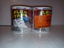 Flex Tape Strong Rubberized Waterproof Tape 4 X 5 White 2 Pack New