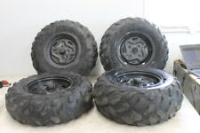 2006 KAWASAKI BRUTE FORCE 750 KVF750 4X4 FRONT REAR WHEELS RIMS W TIRES