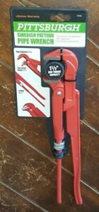 """12-1/2"""" Swedish Pattern Pipe Wrench -Pipe Capacity 1-3/4"""" & Jaw 1-1/2"""" - #57446"""