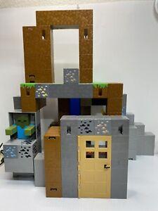 Mattel Minecraft Survival Mode Playset 2015 Incomplete Set