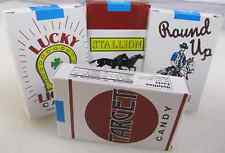 retro Old Fashioned CANDY CIGARETTES 4 PACK LOT Fresh from Brand New Case!
