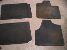 2006 DODGE CARAVAN GREY FLOOR MATS - SET OF 4 - 2 FRONT & 2 BACK - USED