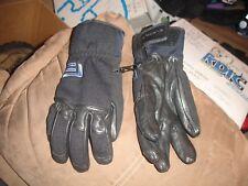 burton FB Women's black part leather gloves size medium in excellent condition