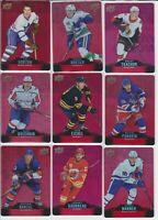 Tim Hortons RED DIE CUT SET Hockey COMPLETE 50 Card #DC1-50 year UD 2020-2021