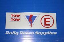 kill switch/ fire/tow sticker vauxhall c20let c20xe rally nova astra corsa sm