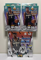 2019-2020 Panini Mosaic Basketball Mega & 2 Hanger Box Lot- NBA New Sealed Boxes