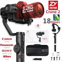 Zhiyun Crane 2 3-Axis Handheld Gimbal Stabilizer w/ Follow Focus for DSLR Camera