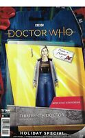 Doctor Who 13th Doctor Holiday Special Comic 1 Cover C Action Figure 2019 Houser